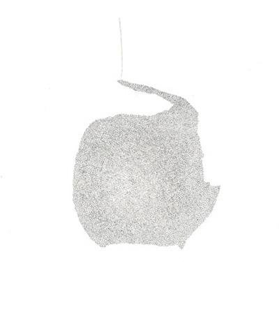 o. T. (Wintertage I), Bleistift auf Papier, 10,5 x 14,7 cm, 2012